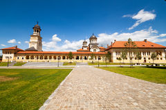 Coronation Cathedral in Alba Iulia, Romania Royalty Free Stock Image