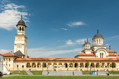 The Coronation Cathedral Of Alba Iulia Royalty Free Stock Photo