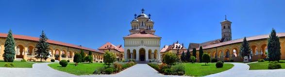 Free Coronation Cathedral Of Alba Iulia, Transylvania Romania Panorama - Catedrala Incoronarii Din Alba Iulia Royalty Free Stock Photography - 179502877