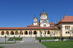 Coronation cathedral of the Romanian Orthodox Royalty Free Stock Photos
