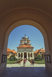 Coronation Orthodox Cathedral, Alba Iulia, Romania Royalty Free Stock Images