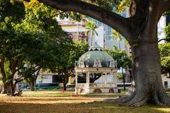 Coronation Pavilion of Iolani Palace Stock Image