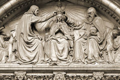 Coronation of Virgin Mary Stock Photos