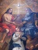 Coronation of the Virgin Mary Royalty Free Stock Image
