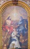 Coronation of the Virgin Mary Stock Photography