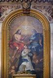 Coronation of the Virgin Mary Stock Photos