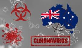 Free Coronavirus Australia Virus Australia Royalty Free Stock Photography - 176459107