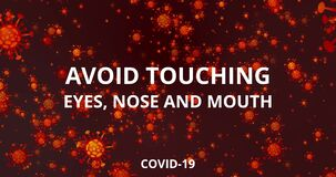Coronavirus COVID-19. Basic protective measures against the new coronavirus. Wash hands, maintain social distance and clean surfac