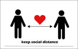Keep social distance. Coronavirus COVID-19 Pandemic StayHome