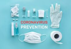 Coronavirus  covid-19  prevention equipment.medical supplies.virus outbreak situation.body health care.washing and cleaning your
