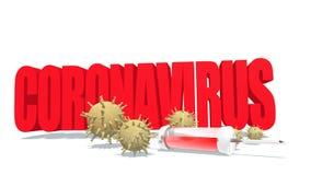 Coronavirus disease concept