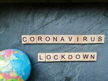 Free Coronavirus Lock Down Royalty Free Stock Images - 176542139