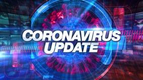 Coronavirus Update - Media TV Animation Graphic Title