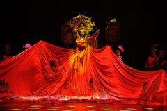 Coroncina di Phoenix ed abiti di rango-grande  dello show†degli scenari della scala il  del legend†della strada Fotografia Stock