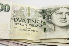 Corone ceche Fotografia Stock Libera da Diritti