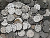 Corone ceche di monete Fotografia Stock Libera da Diritti