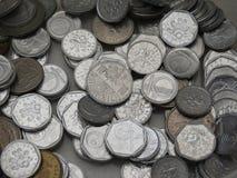 Corone ceche di monete Fotografie Stock Libere da Diritti