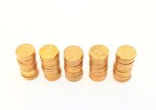 Corone ceche soldi Fotografia Stock Libera da Diritti