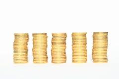 Corone ceche soldi Immagini Stock