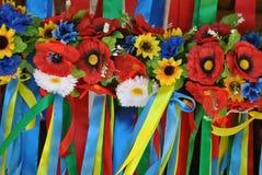 Corone dei fiori fotografie stock libere da diritti