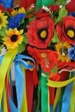 Corone dei fiori fotografia stock libera da diritti