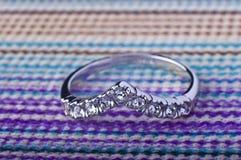 Corone el anillo Imagen de archivo