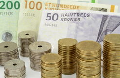 Corone scandinave danesi Immagini Stock Libere da Diritti