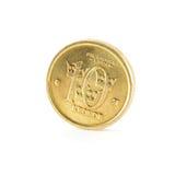 Corone svedesi della moneta dieci Fotografia Stock Libera da Diritti