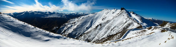 Coronet peak queenstown Royalty Free Stock Photography