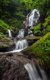 Corong. Waterfall, central java, indonesia Royalty Free Stock Images