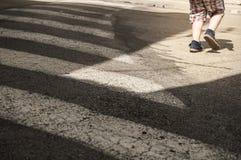 Corosswalk Стоковое Фото