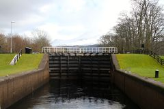 Corpach lock Stock Images