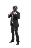 Corpo completo do homem de negócio no protetor Imagem de Stock Royalty Free