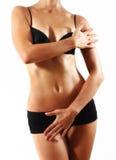 Corpo da mulher Fotografia de Stock Royalty Free