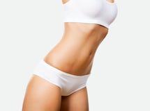 Corpo da mulher Tanned fotos de stock