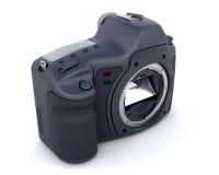 Corpo de câmera de Digitas SLR ilustração stock