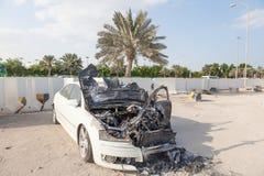 Corpo de carro para fora queimado Fotografia de Stock