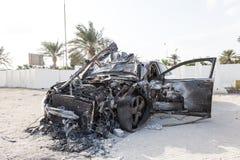 Corpo de carro para fora queimado Fotos de Stock Royalty Free