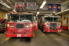 Corpo dei vigili del fuoco New York immagini stock