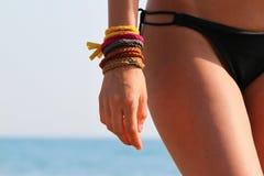 Corpo del bikini Fotografia Stock