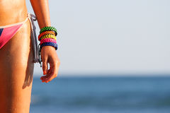 Corpo del bikini immagine stock