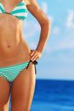 Corpo del bikini fotografie stock