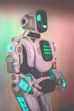 Corpo del primo piano del robot Fotografia Stock