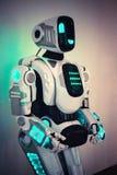 Corpo del primo piano del robot Immagini Stock