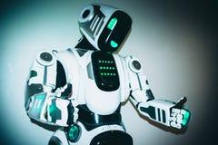 Corpo del primo piano del robot Immagini Stock Libere da Diritti