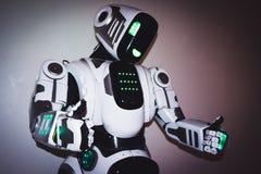 Corpo del primo piano del robot Immagine Stock Libera da Diritti