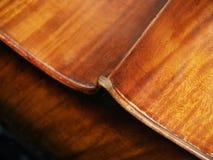 Corpo del violoncello Fotografie Stock Libere da Diritti