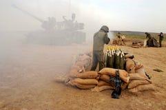 Corpo dell'artiglieria - Israele fotografia stock