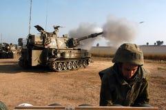 Corpo dell'artiglieria - Israele immagini stock libere da diritti