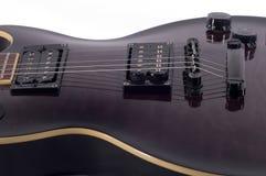 Corpo della chitarra Fotografia Stock